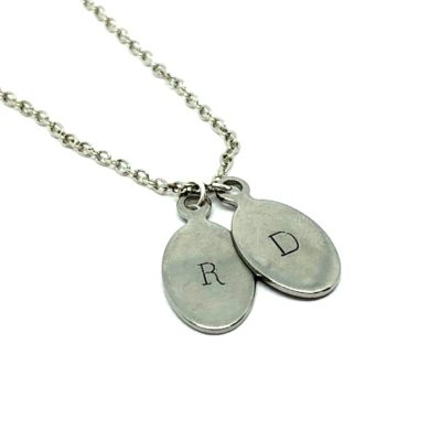 Stamped pendants archives merlesque bespoke jewellery tiny tags 1 2 mozeypictures Gallery