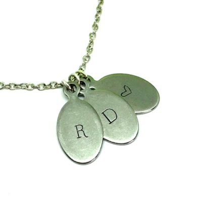 Stamped pendants archives merlesque bespoke jewellery tiny tags 3 4 mozeypictures Gallery